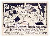 Folies-Marigny  Tournoi de Boxe