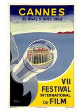 Cannes  VII Festival International du Film  1954