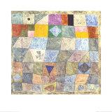 Freundliches Spiel Reproduction d'art par Paul Klee