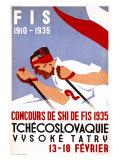 Czech Downhill Snow Ski