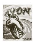 British Motorcycle Avon Tire
