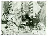Canton China Opium Den