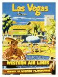 Las Vegas  Western Airlines