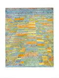 Chemin principal et chemins secondaires, vers 1929 Reproduction d'art par Paul Klee