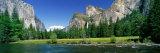 Bridal Veil Falls, Yosemite National Park, California, USA Papier Photo par Panoramic Images