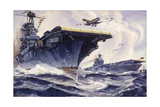 US Aircraft Carriers Wasp and Enterprise Roar into Action