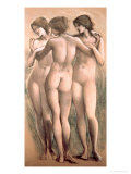 The Three Graces  circa 1885