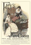 Fry's Pure Cocoa Reproduction d'art