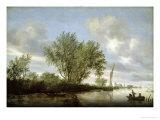 River Landscape  1645