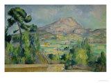 Montagne Sainte-Victoire  circa 1887-90