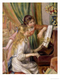 Young Girls at the Piano  1892