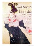 "Poster Advertising ""La Revue Blanche""  1895"