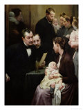 The Drop of Milk in Belleville: Doctor Variot's Surgery  the Consultation  1903