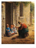 Feeding the Young  1850