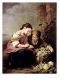 The Little Fruit-Seller  1670-75