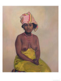 African Woman  1910
