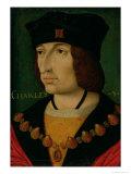 Portrait of Charles VIII King of France