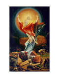 The Resurrection of Christ  from the Isenheim Altarpiece circa 1512-16