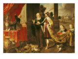 Ahasuerus Showing His Treasure to Mordecai