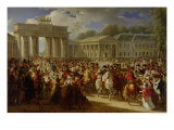 Entry of Napoleon I into Berlin  27th October 1806  1810