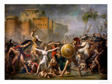 The Sabine Women  1799