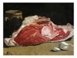 Still Life  the Joint of Meat  1864