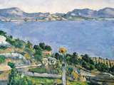 L'Estaque  View of the Bay of Marseilles  circa 1878-79