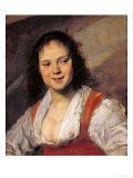 The Gypsy Woman  circa 1628-30
