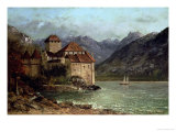 The Chateau de Chillon  1875