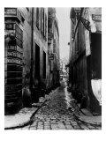 Rue Du Croissant  from the Rue Du Sentier  Paris  1858-78