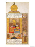 "Bahram Visits the Princess of Turkestan  Illustration to ""The Seven Princesses"""