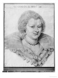 Portrait of Magdeleine de Souvre Marquise de Sable  1621