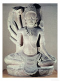Shiva with Ten Arms  from Thap Banh It Temple  Binh Dinh  Vietnam  11th-12th Century