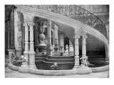 Fountain Under the Stairs of the Hotel de Ville Before the Fire of 1871