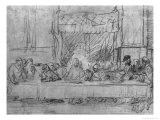 The Last Supper  after the Fresco by Leonardo Da Vinci circa 1635