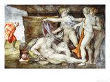 Sistine Chapel Ceiling: Drunkenness of Noah