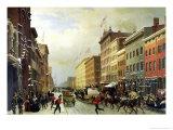 Street Scene in New York