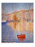 The Red Buoy  Saint Tropez  1895
