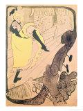 Poster Advertising Jane Avril at the Jardin de Paris  1893