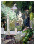 The Gardens at the Sorolla Family House  1920