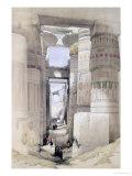 "View Through the Hall of Columns  Karnak  from ""Egypt and Nubia""  Vol1"