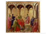Maesta: Christ Among the Doctors  1308-11