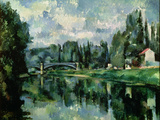 The Banks of the Marne at Creteil  circa 1888