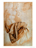 Recto Study of Drapery