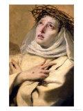 St Catherine of Siena  circa 1746