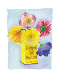 Flowers in a Yellow Can