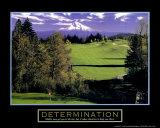 Determination: Golf