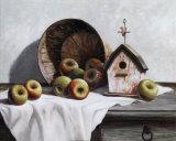 Birdhouse  Basket  Apple