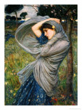 Boreas Giclée par John William Waterhouse