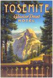 Yosemite, Glacier Point Hotel Reproduction d'art par Kerne Erickson